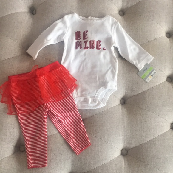 Carter S Matching Sets Baby Girls Valentines Day Outfit 3 Months